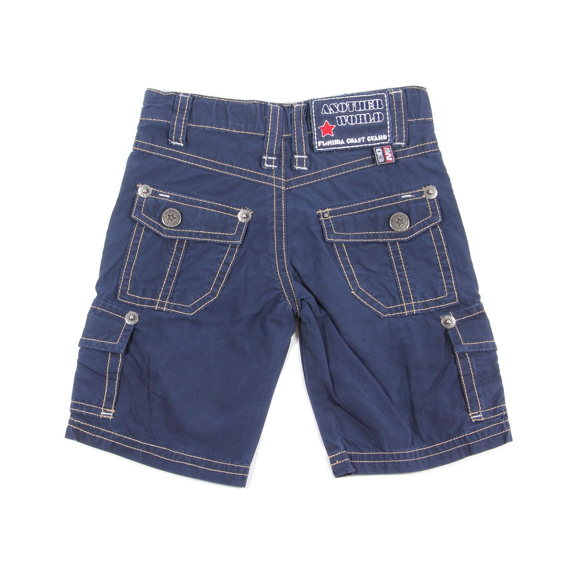 Another World Kinderkleding.Another World Korte Broek Blauw Maat 62 68 Bij Tweedehandjes Com